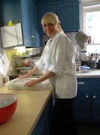 Kim of Gypsy's Tearoom in Westminster, MD