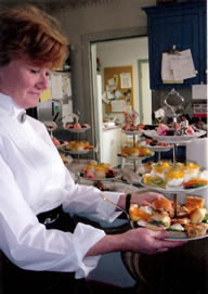 Renee of Gypsy's Tearoom in Westminster, MD