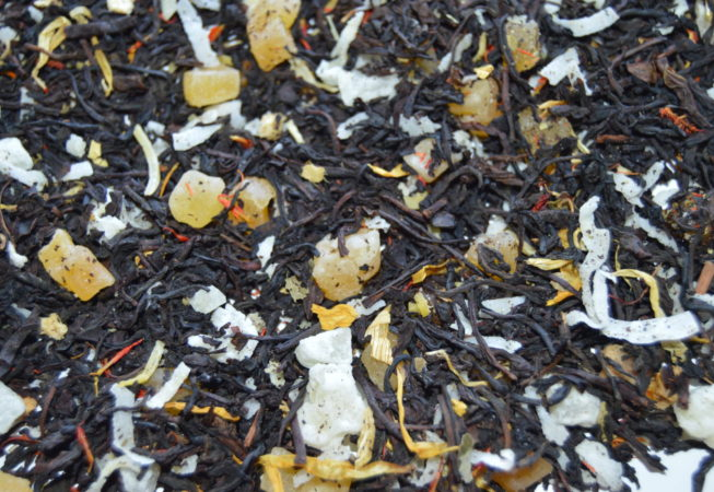 Tropical Paradise | Signature Blend Tea at Gypsy's Tearoom