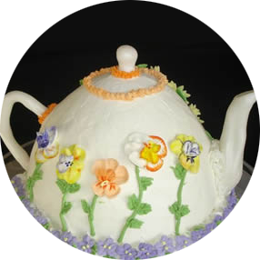 Gypsy's Tearoom - Tea Pot Cake - Westminster, Maryland