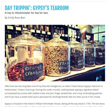 Gypsy's featured in Baltimore STYLE Magazine