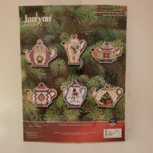 Christmas Teapot Cross Stitch