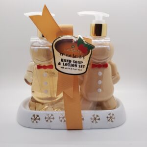 Gingerbread Hand Soap & Lotion Set