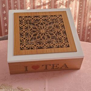 Tea Box – I Love Tea – 9 Compartment