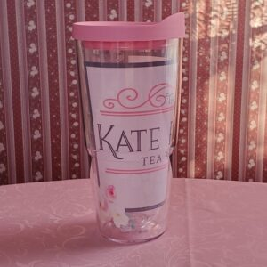 The Kate Pearl Tea Room Tervis Tumbler with Lid