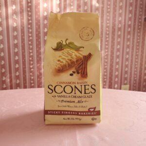 Sticky Fingers Scone Mix – Cinnamon Rasin